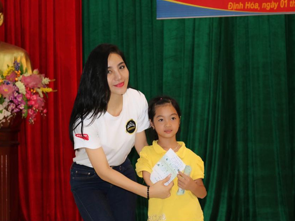 Thai Nguyen-born businesswoman with a charitable heart
